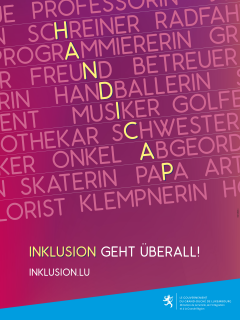"Poster ""Inklusion geht überall!"""