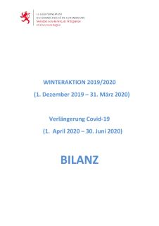 Bilanz Winteraktion 2019-2020